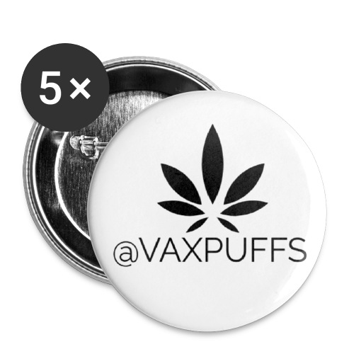 Vaxpuffs - Buttons large 2.2'' (5-pack)
