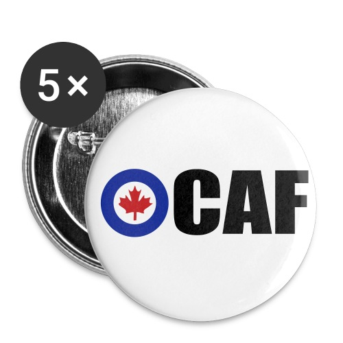 Canadian Air Force - Buttons large 2.2'' (5-pack)