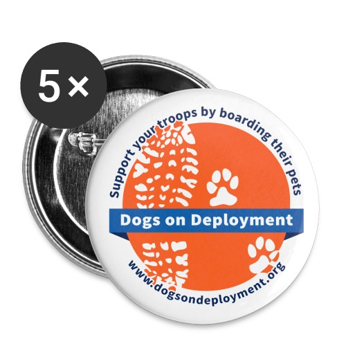 DoD-logo-circle-whiteback - Buttons large 2.2'' (5-pack)