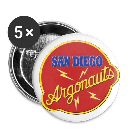 Logo Argonauts Round Logo - Buttons large 2.2'' (5-pack)