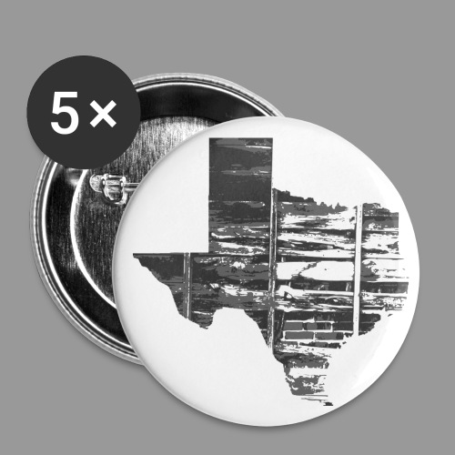Real Texas - Buttons large 2.2'' (5-pack)
