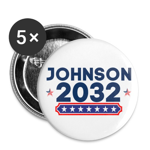 JOHNSON 2032 - Buttons large 2.2'' (5-pack)