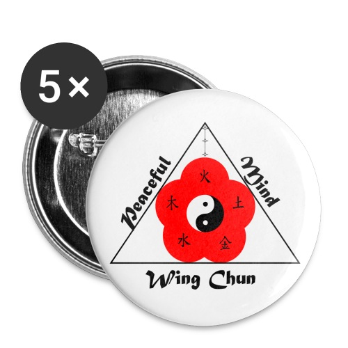 Peaceful Mind Vector - Buttons large 2.2'' (5-pack)