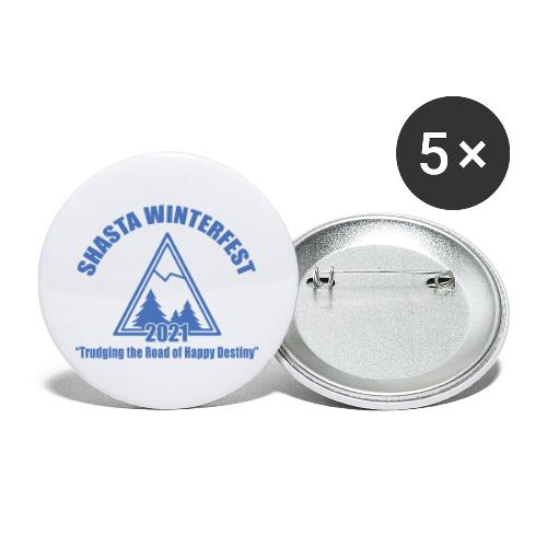 front logo - Buttons large 2.2'' (5-pack)