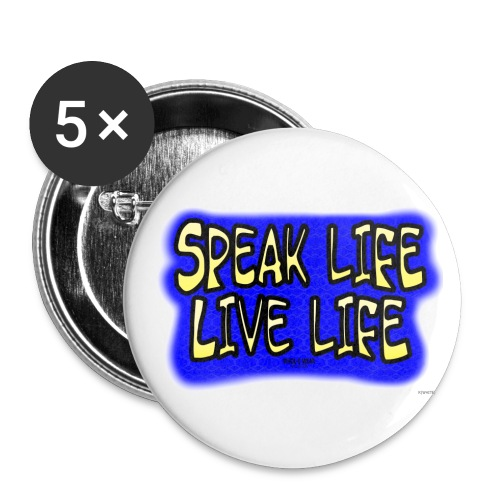 ww speaklife - Buttons large 2.2'' (5-pack)