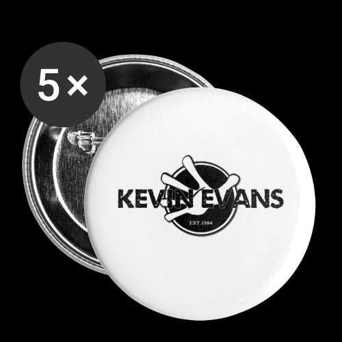 kevin - Buttons large 2.2'' (5-pack)