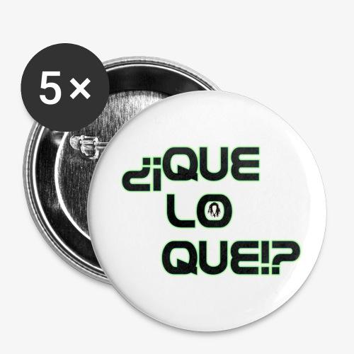 Que Lo Que - Buttons large 2.2'' (5-pack)