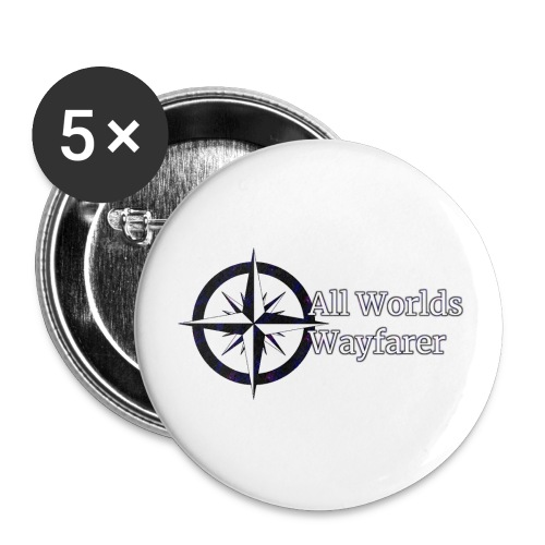 AWW Logo - Buttons large 2.2'' (5-pack)