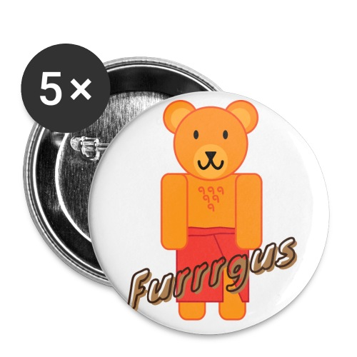 Presidential Suite Furrrgus - Buttons large 2.2'' (5-pack)
