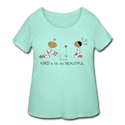 Kind is the new beautiful - Women's Curvy T-Shirt