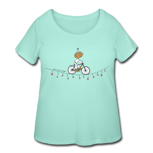 Follow your Heart - Women's Curvy T-Shirt
