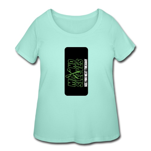 syntiphone5 - Women's Curvy T-Shirt