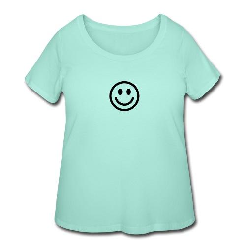 smile dude t-shirt kids 4-6 - Women's Curvy T-Shirt