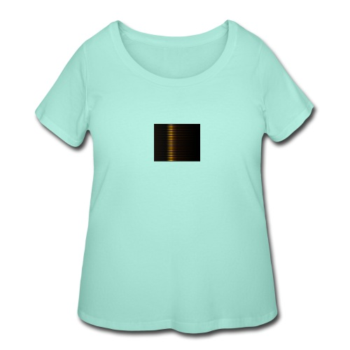 Gold Color Best Merch ExtremeRapp - Women's Curvy T-Shirt