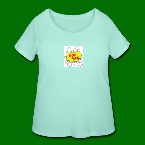 Sick Talk - Women's Curvy T-Shirt