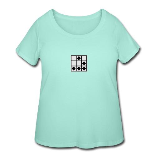 Hacker Emblem - Women's Curvy T-Shirt
