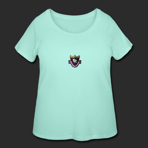 Puissant Royale Logo - Women's Curvy T-Shirt