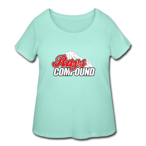 Rays Compound - Women's Curvy T-Shirt