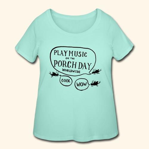 Crickets - Women's Curvy T-Shirt