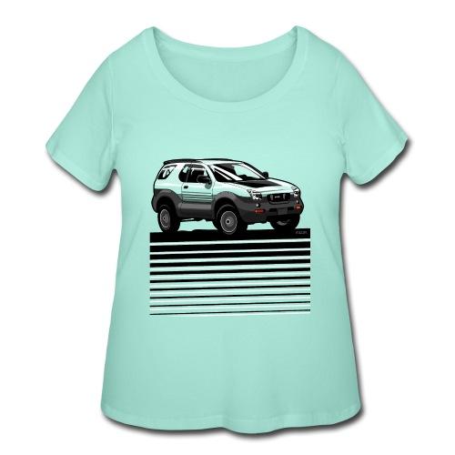 VX SUV Lines - Women's Curvy T-Shirt