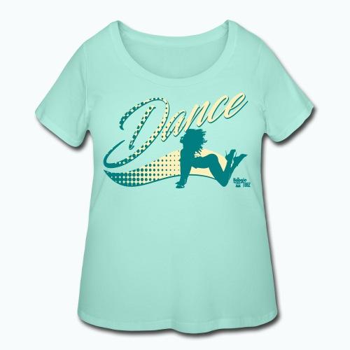dance png - Women's Curvy T-Shirt