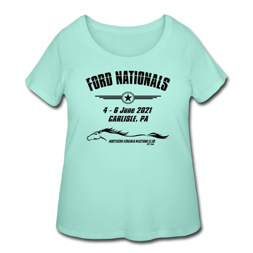 Ford Nationals 2021 - Women's Curvy T-Shirt