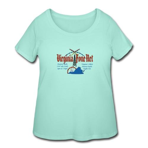 VFN 3947 Logo - Women's Curvy T-Shirt