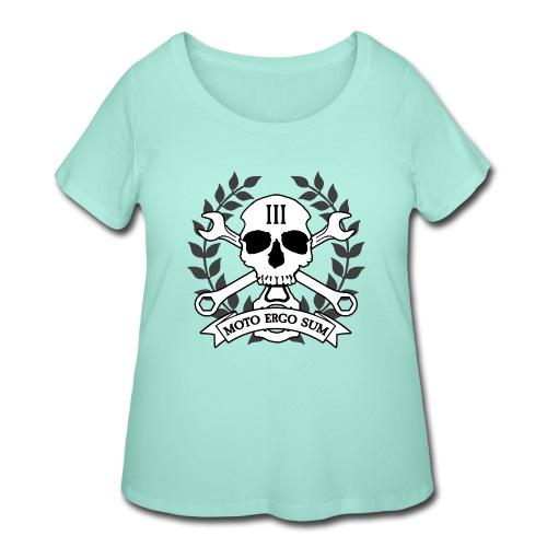 Moto Ergo Sum - Women's Curvy T-Shirt