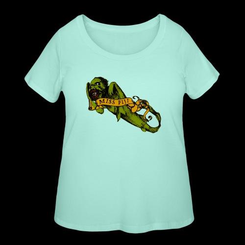 Barnum's Bride - Women's Curvy T-Shirt