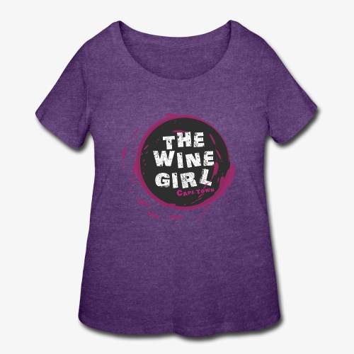 The Wine Girl - Women's Curvy T-Shirt