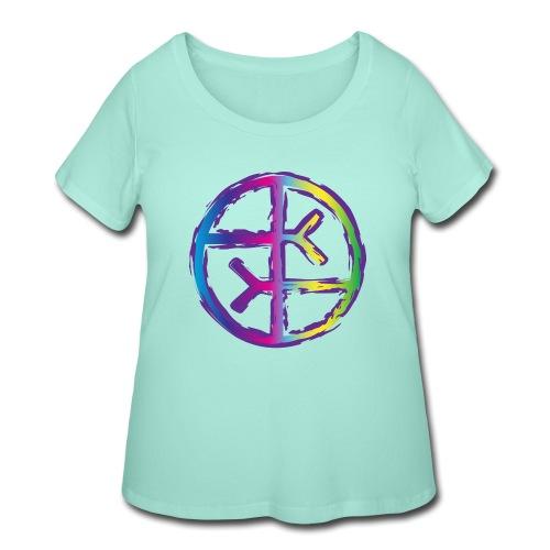 Empath Symbol - Women's Curvy T-Shirt
