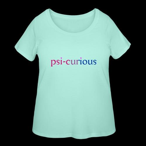 psicurious - Women's Curvy T-Shirt