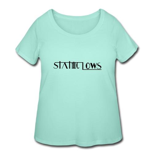Staticlows - Women's Curvy T-Shirt