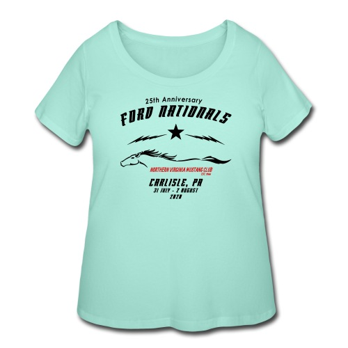 Ford Nationals - Women's Curvy T-Shirt