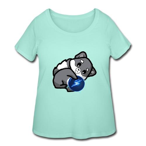 Eluketric's Zapp - Women's Curvy T-Shirt