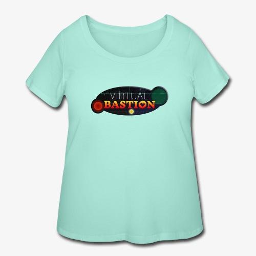 Virtual Bastion: Space Logo - Women's Curvy T-Shirt