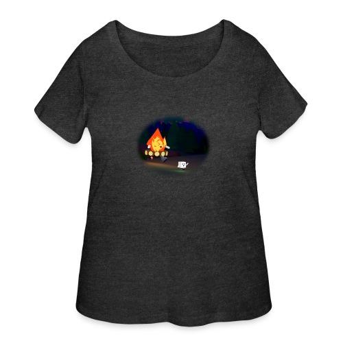 'Round the Campfire - Women's Curvy T-Shirt
