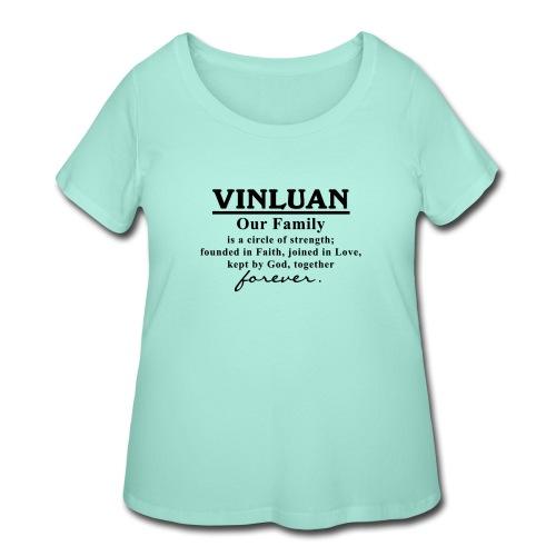 Vinluan Family 01 - Women's Curvy T-Shirt