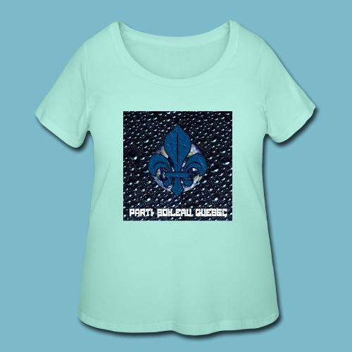 party boileau 6 - Women's Curvy T-Shirt