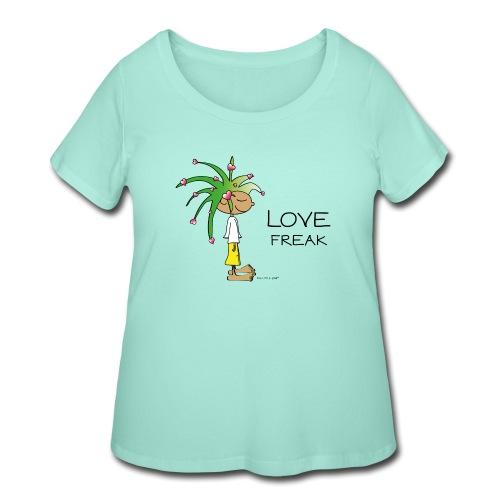 Love Freak - Women's Curvy T-Shirt