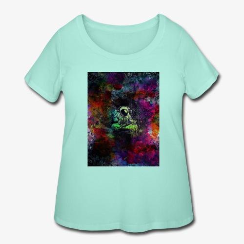 Astronaut - Women's Curvy T-Shirt