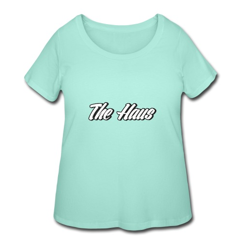The Haus Logo - Women's Curvy T-Shirt