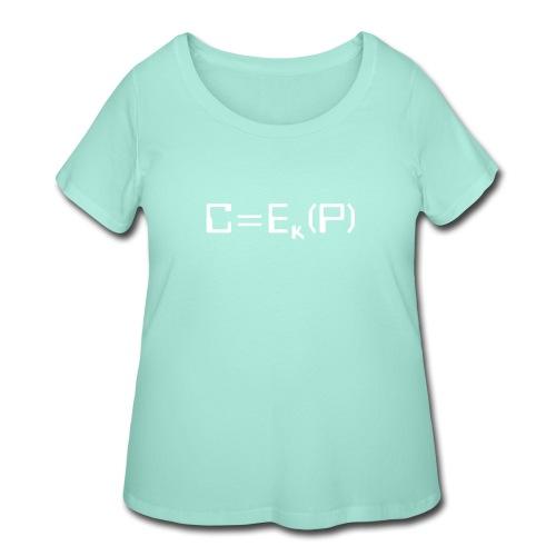 Ciphertext - Women's Curvy T-Shirt