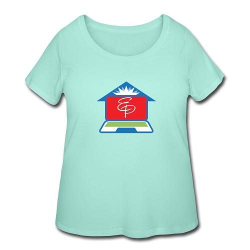 EP Logo Only - Women's Curvy T-Shirt