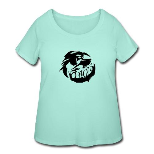 wolf - Women's Curvy T-Shirt