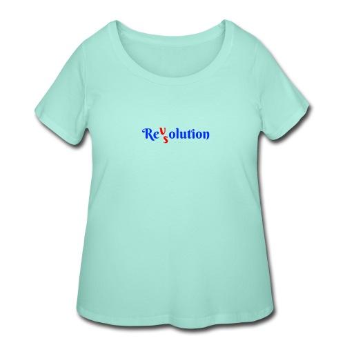 Revolution VS Resolution - Women's Curvy T-Shirt