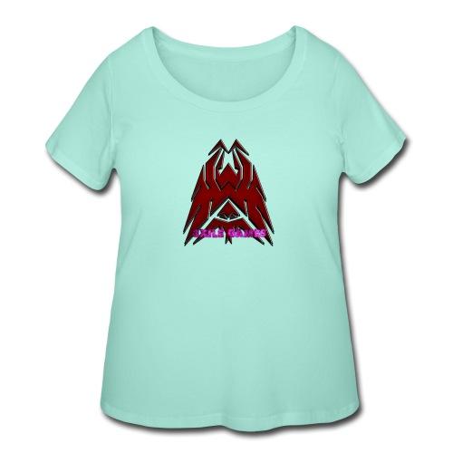 3XILE Games Logo - Women's Curvy T-Shirt