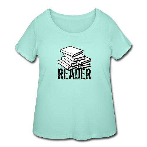 reader - Women's Curvy T-Shirt