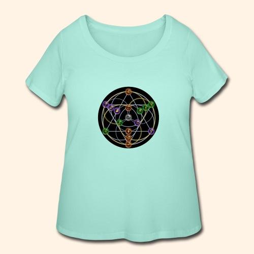 2017 Alchemical Flow - Women's Curvy T-Shirt