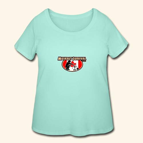 Muskrat Badge 2020 - Women's Curvy T-Shirt